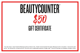 Beautycounter Gift Certificate - Real Everything