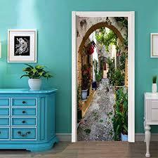 3D Door Decal Door Stickers Decor Door Mural ... - Amazon.com