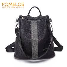 <b>POMELOS Women Backpack</b> 2018 New Arrival Functional Soft PU ...