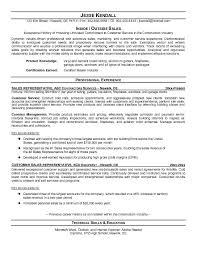 Inside Outside Sales Rep Resume Sample   Eager World Annamua Annamua