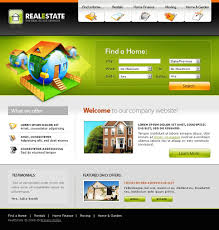 Real Estate Agency Website Template #20013