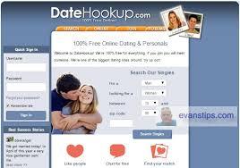 Image of DateHookup Free Dating Website