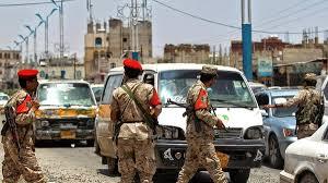 صنعاء - مبنى التلفزيون اليمني يتعرض للقصف