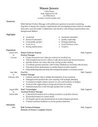 resume sample software product manager resume sample  product    resume sample software product manager resume sample  product manager resumes template sample