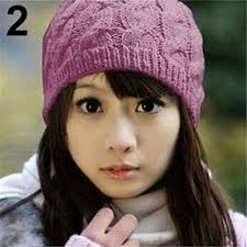 <b>Women</b> Winter Fashion Cable <b>Knit Crochet Hat Solid</b> Color Warm ...