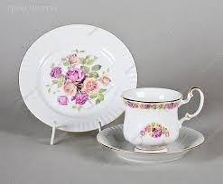 <b>Подарочный</b> чайный <b>набор</b> фарфоровый <b>3 предмета</b> купить арт ...