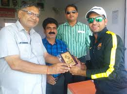 collage sports club beats national sports club by 4 wickets man of the match siddharth lohia