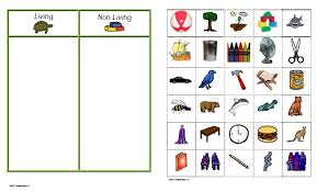 living and nonliving printables for kinder[globefunds mutual powered by vbulletin] Classification