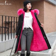 <b>PinkyIsblack</b> Winter <b>Jacket</b> Women Thick Warm Fur Hooded Parkas ...