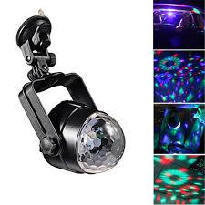 <b>IR Remote</b> RGB LED Crystal Magic Rotating Ball Stage Light 4m ...