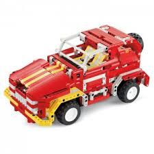 """<b>Радиоуправляемый грузовик</b>-конструктор """"Пожарная машина ..."""