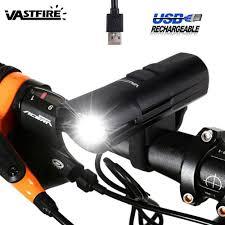 6000 Lm 2x XM-L U3 Rechargable <b>LED</b> Front Bicycle Bike Light ...
