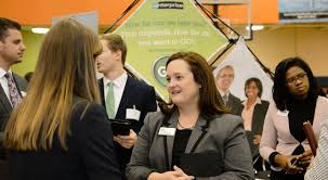students urged to make it their business to attend career fairs amy luck recruiter for enterprise rent a car finds clemson a great
