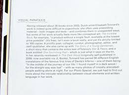 interview elisabeth tonnard lodown magazine from berlin interviewed me about the relationship between visual elements and written language in my work see the interview as jpg s on