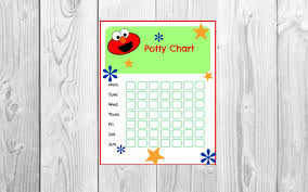 potty training elmo printable sesame street reward system 🔎zoom