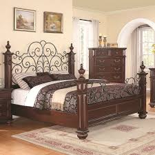 iron and wood bedroom furniture brilliant wrought bedroom endearing rod iron