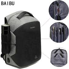 Detail Feedback Questions about <b>BAIBU Men Backpack</b> Fashion ...