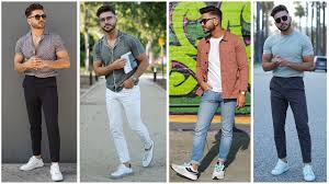 4 EASY SUMMER OUTFITS FOR MEN <b>2019</b> | <b>MEN'S FASHION</b> ...
