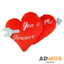 <b>Декоративная подушка You And</b> Me Forever оптом под нанесение ...