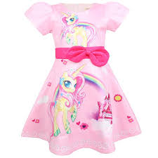 <b>2019</b> Baby Girls <b>Pink Unicorn</b> Dress <b>2019</b> Kids Princess Dresses ...