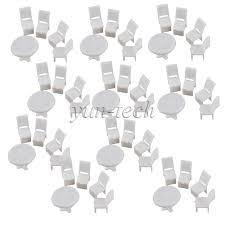 Dining Room Tables And Chairs For 10 10 Sets Of 175 Dollhouse Furniture Miniature Dining Room Table 40