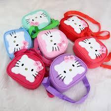 Милые <b>мини</b>-<b>сумка детей</b> Hello Kitty <b>сумки</b> для женщин Кот PU ...