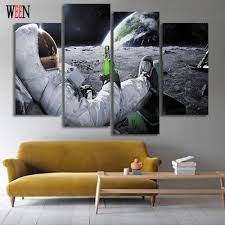 canvas painting living room art framework 1 panel movie aquaman poster modern hd printed type wall decoration pictures