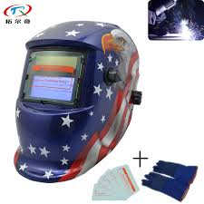 Blue American Eagle Cartridge Automatic Darkening <b>Welding</b> Tig ...