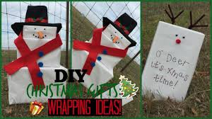DIY <b>Christmas Gift</b> Wrapping Ideas: <b>Snowman</b> and Reindeer ...