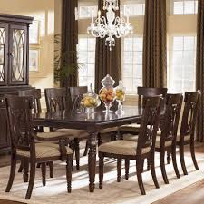 Formal Dining Room Sets Ashley Prosecco Dining Set With Marais Chairs Dining Room Collections