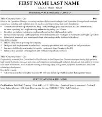 operations superintendent resume sample template page 2 superintendent resume