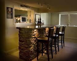basement bar recessed cut out for tv basement bar lighting ideas