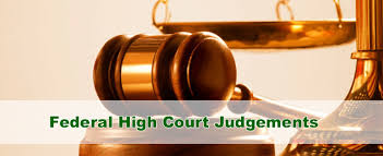 Image result for federal high court
