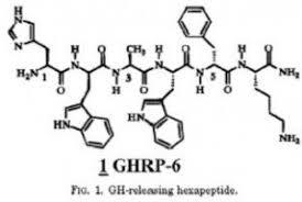 Recent studies on GHRP 6