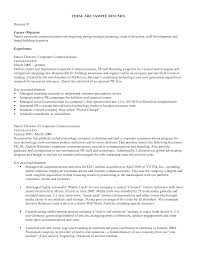 resume template objectives in resume for applying a job with senior director experience objectives