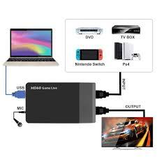Ezcap261M Usb 3.0 <b>HD</b> Video <b>Game Capture 4K 1080P Game</b> Live ...