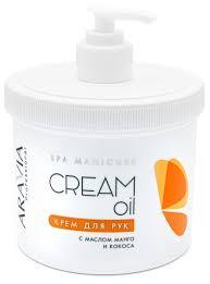 <b>Крем для рук</b> Aravia Professional Cream oil с маслом кокоса и <b>манго</b>