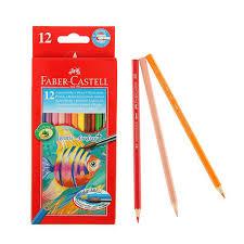 Цена на Набор цветных <b>карандашей акварельных Faber</b>-<b>castell</b> ...