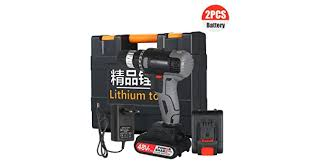 Extaum 160W <b>21V Cordless</b> Drill Dirve Kit 2 Speed <b>Brushless</b> ...