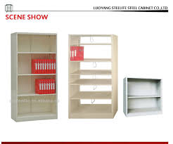 filing storage open shelf cabinet wall mounted metal file cabinet without door bookshelf file storage wall