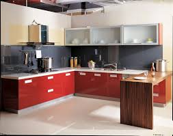 Red Retro Kitchen Accessories Appealing Plan Design Light Yellow Wooden Color Retro Kitchen