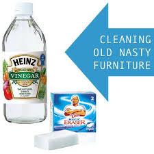 how to clean up old furniture give it new life with vinegar and magic erasers antique furniture cleaning