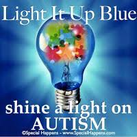 Image result for light it up blue
