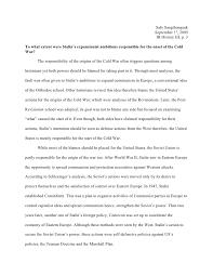 origins of the cold war essay origins of the cold war essay safe sangthongsuk