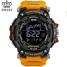 <b>SMAEL Mens Watch</b> Military Waterproof Sport Wrist <b>Watch Digital</b> ...