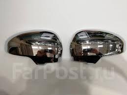 <b>Хромированные накладки на зеркало</b> Toyota Prius 30 / 40 - GT и ...