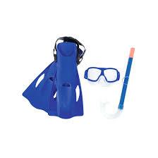 <b>Набор для ныряния</b> Фристайл с маской, трубкой и ластами ...