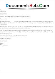 application letter for residence com request letter for residence