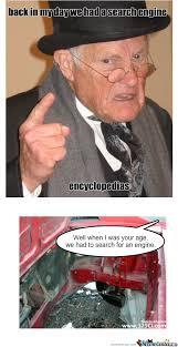 RMX] Back In My Day by elfkaboom - Meme Center via Relatably.com