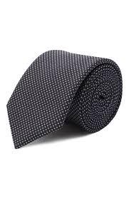 Мужской сиреневый <b>шелковый галстук HUGO</b> — купить за 4800 ...